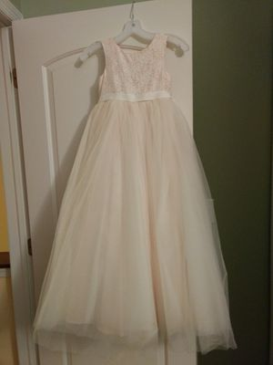 Flower girl/pagent dress (sz 7) for Sale in Lancaster, OH