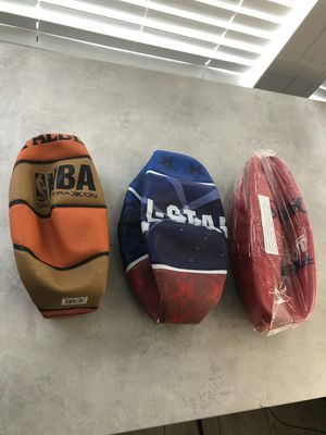 Brand new assorted basket balls Spalding original basketball for Sale in Davie, FL