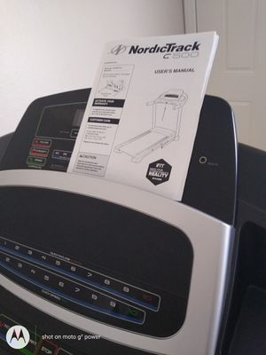 NEW, NordicTrack C500 treadmill for Sale in Huntington Beach, CA