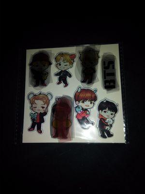 BTS (3d stickers) for Sale in San Antonio, TX