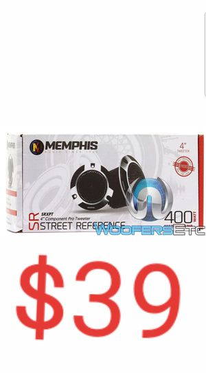 "MEMPHIS SRXPT 4"" 400W 100 RMS COMPONENT PRO TWEETERS SPEAKERS PAIR CAR AUDIO NEW for Sale in San Diego, CA"
