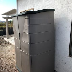 Storage Shed - Rubbermaid Large Vertical Resin for Sale in San Diego, CA