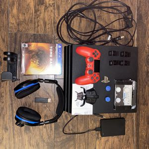 Ps4 Pro 1tb Bundle *Amazing Deal**press Picture For Better View* for Sale in Kissimmee, FL
