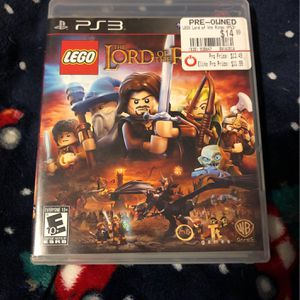 PS3 Lego Lord Of The Rings for Sale in Milwaukie, OR