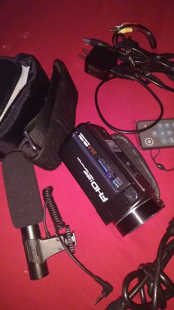 1080p Camcorder and Accessories