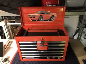 Vintage GTO judge craftsman tool box for Sale in Winter Park, FL