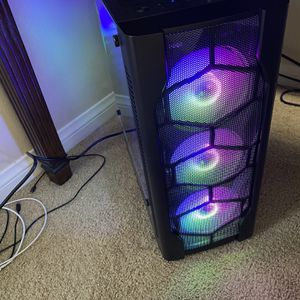 New Build Desktop Gaming PC + Free Monitor for Sale in Huntington Beach, CA