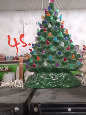 Ceramic Christmas trees for Sale in Mount Vernon, IN