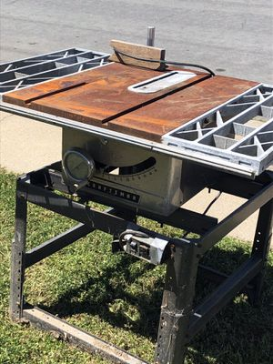 Table saw Craftsman 10$!! for Sale in Watsonville, CA