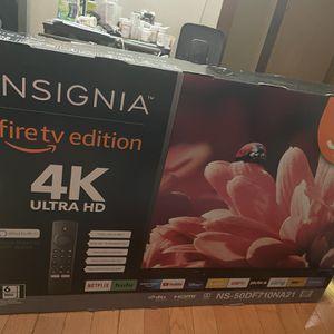 """Insignia 50"""" 4K fire Tv for Sale in Edison, NJ"""