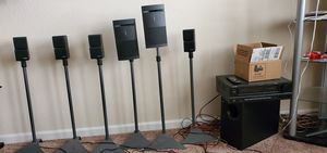 Bose acoustimass 700 series Home Theatre Speaker System and Optimus Receiver for Sale in Concord, CA