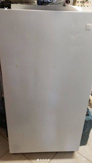 Maytag freezer available for delivery for Small fee for Sale in Fort Myers, FL
