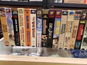 John Wayne VHS Collection for Sale in Orange, CA