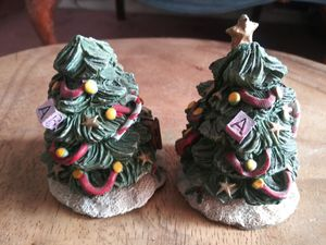 2 Christmas Tree Figurines for Sale in Washington, DC
