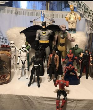 Star Wars, DC, and Marvel action figures for Sale in El Monte, CA