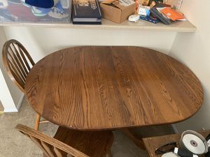 Oak Kitchen Table for Sale in Charlotte, NC