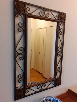 Antique Iron Wrought Mirror for Sale in Washington, DC