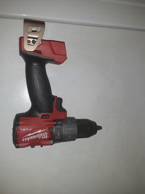 Milwaukee m18 fuel gen3 drill/driver nada menos for Sale in Houston, TX