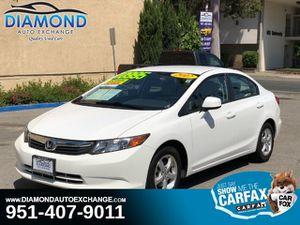 2012 Honda Civic Sdn for Sale in Corona, CA