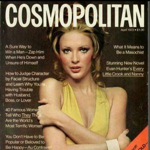 Vintage Cosmopolitan Magazine April 1972 Male Centerfold Burt Reynolds Poster Rare for Sale in Temecula, CA