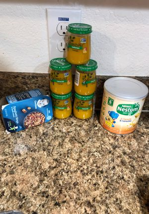 Free baby food, nestum cereal and spaghetti rings for Sale in Bartow, FL
