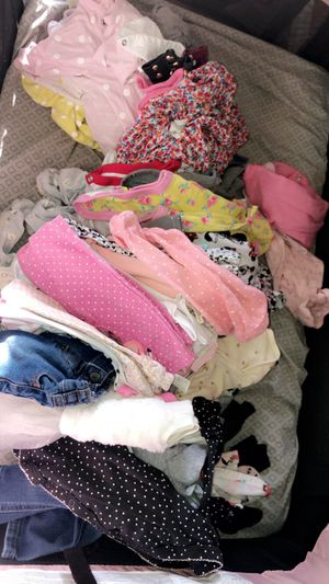 BABY GIRL CLOTHES for Sale in Henderson, NV