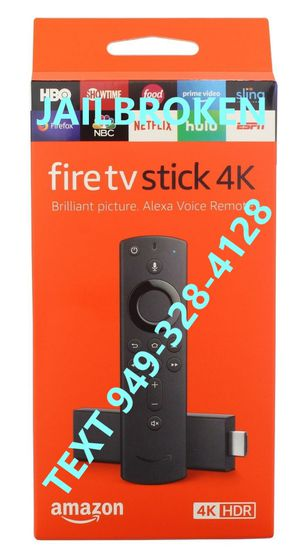 Fire TV 4K Stick for Sale in Irvine, CA