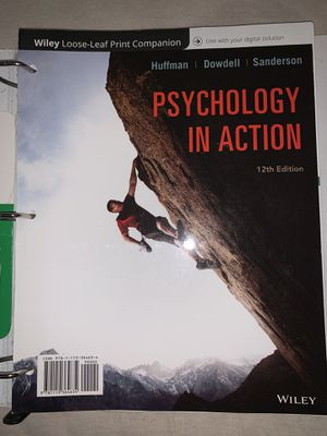 Psychology in Action 12th Edition Textbook for Sale in Phoenix, AZ