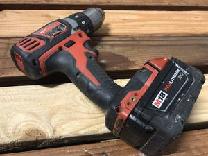 "Milwaukee M18 1/2"" cordless drill driver with battery for Sale in San Jose, CA"