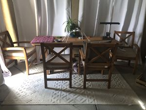 Outdoor furniture w/ 6 chairs for Sale in Clermont, FL