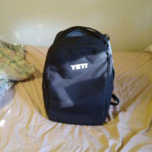Black Yeti Backpack/cooler for Sale in Portsmouth, VA