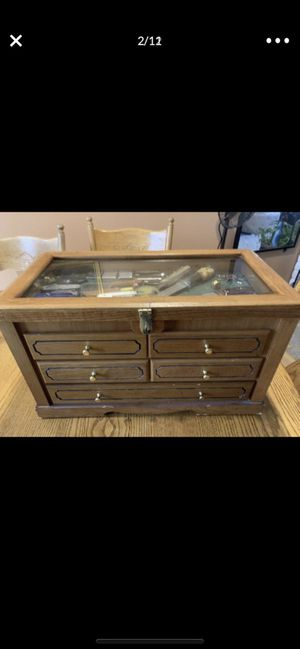Display Case with Contents for Sale in Des Moines, WA