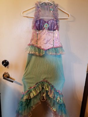 Ariel costume size 7-8 Disney store for Sale in Santa Ana, CA