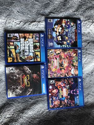 Video Game Bundle (PS4) for Sale in Santa Ana, CA
