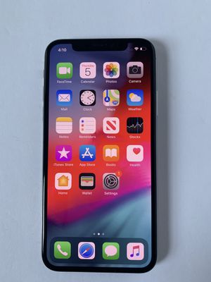 iPhone X 64gb unlocked for Sale in Pittsburgh, PA