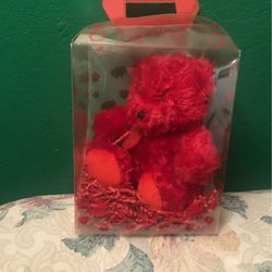 Small Red Teddy Bear for Sale in San Jose,  CA