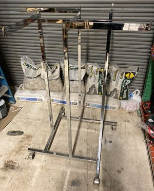 4 way garment rack for clothing ( 3 total, $15 each or best offer) for Sale in Miami, FL