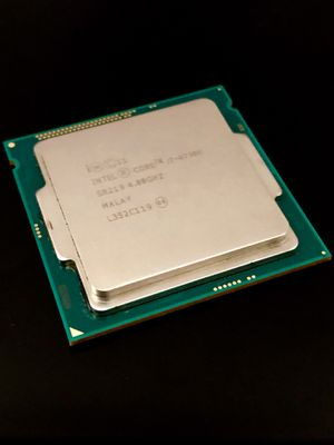 Intel core I7-4790K 4ghz processor cpu gpu apu computer 1.221 for Sale in McClellan Park, CA