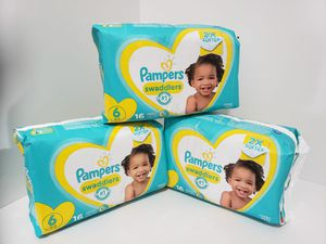 Pampers Swaddles NB-1,2,3,4,5,6 for Sale in Groveport, OH