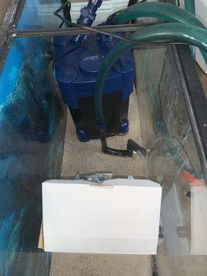 Aqueon 75 aquarium filter 300gph for Sale in El Dorado Hills, CA