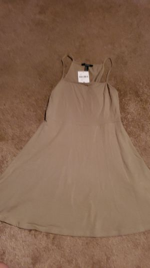 Forever21 dress olive for Sale in Ontario, CA