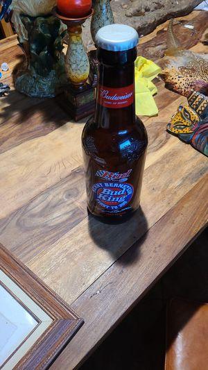 Budweiswer 2000 NHRA season bottle for Sale in Houston, TX