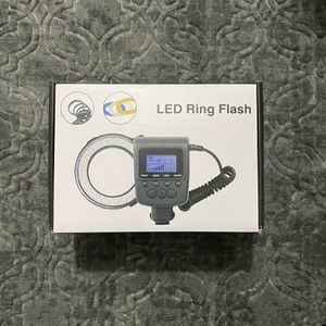 Brand New Dslr Led Ring Light Flash for Sale in Vacaville, CA