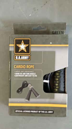 US army cardio rope for Sale in Miramar, FL
