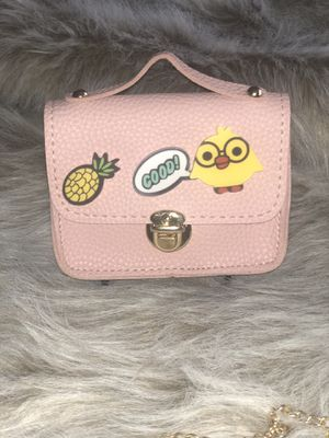 Cute Cartoon Chain Crossbody Bag - Pink for Sale in Philadelphia, PA