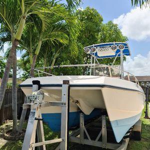 Boat sea cat 21' year 1993 with two 45 honda four strokes, Catamaran for Sale in Miami, FL