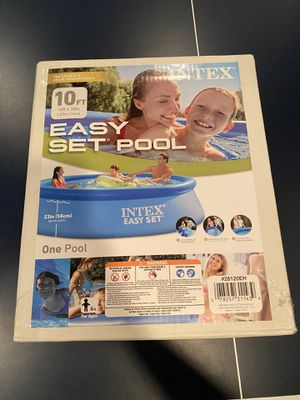 Intex Easy Set Pool - 10 Foot for Sale in Bloomfield Hills, MI