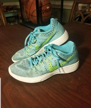 Nike Lunartempo Womens Size 7.5 Running Shoes Blue/Green 705462-400 for Sale in Lexington, SC
