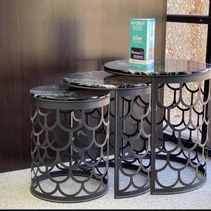 Coffee Table 3 PC ($39) Down for Sale in Dallas, TX