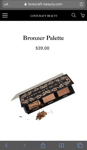 *BRAND NEW* Lovecraft Beauty Bronzer Palette for Sale in San Diego, CA